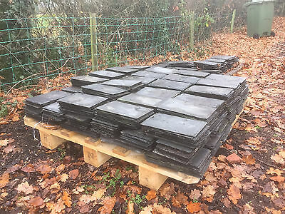 50 x Reclaimed Slate Roof Tiles - 700 available