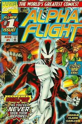 Alpha Flight (1997 series) #1 in Near Mint - condition. FREE bag/board