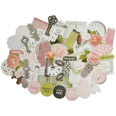 Cottage Rose Diecuts Kaisercraft Collectables Cardstock Die Cuts Vintage