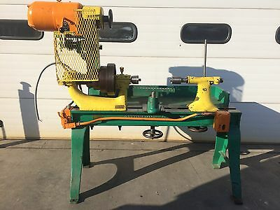 """Pryibil Metal Spinning Lathe 22""""x26"""" With Tool Rest Quick Change Tailstock"""