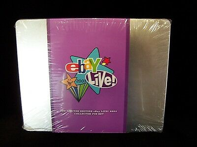 Ebay Live 2003 Orlando Limited Edition Collector Pin Set in Tin