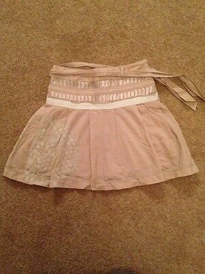 Gorgeous Girls DKNY Beige Skirt Age 5 VGC!