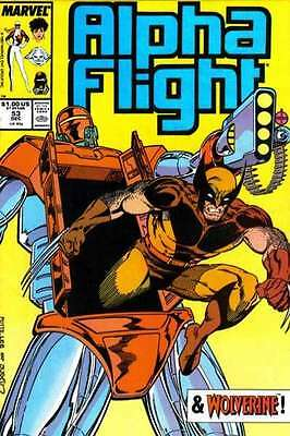 Alpha Flight (1983 series) #53 in Near Mint - condition. FREE bag/board
