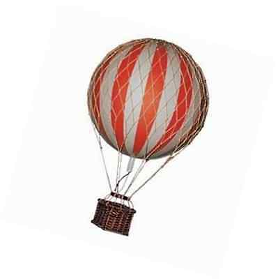 Hot Air Balloon Home Decor Authentic Models Floating The Skies Color Red
