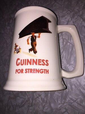 Guinness Beer Ceramic Mug Guinness For Strength Ireland Stein brewery brewing