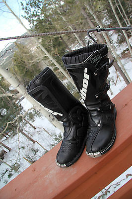 Thor Evolution ATV Motocross MX  Rider Youth Boots Black in color Size 5 Black