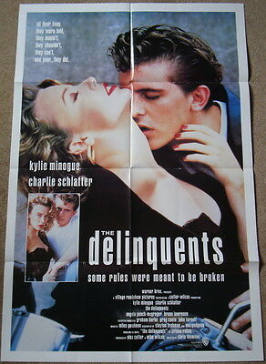 DELINQUENTS - Kylie Minogue - Original 1990 US 27x41 One Sheet film poster