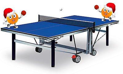 Cornilleau 540 Competition IndoorTable Tennis Table and Donic Schildkrot Bats