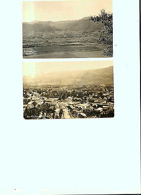 Postcards - 2 - Views Of Ashland, Or - Postmarked 1916 & 1946