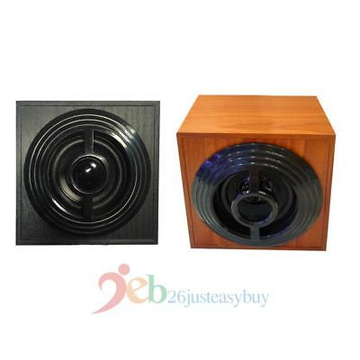 3.5mm Jack USB 2.0 Stereo Loudly Active Speaker Wood Subwoofer for Laptop Tablet