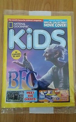 National geographic kids magazine August 2016 Unopened  New issue 128
