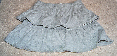 The Children's Place Girls Size S 5/6 Gray Skort Cute Great Shape