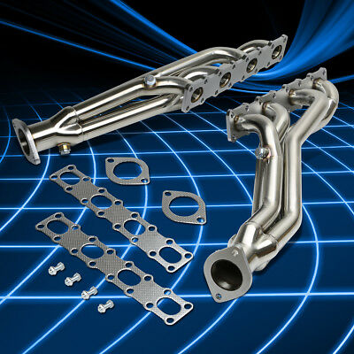 Long Tube Stainless Steel Header Exhaust Manifold for 2004-2015 Titan/Armada 5.6