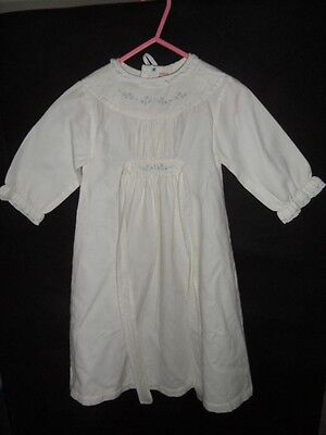 Vintage 1960's Baby Nightie  Age 0-6 Months Boys Girls EXCELLENT CONDITION