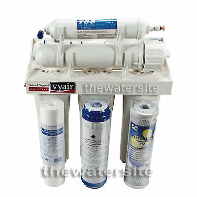 5 Stage Vyair Reverse Osmosis Water Filter Complete Ready To Install *BRAND NEW*