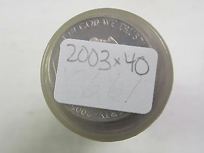2003 S Proof Jefferson Nickel Roll - 40 Coins