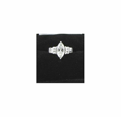 Certified Vs2 1.26Ctw Diamond Engagement Or Anniversary Ring