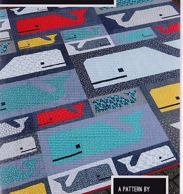 Preppy Pod - fun modern pieced quilt PATTERN - 2 sizes - Elizabeth Hartman
