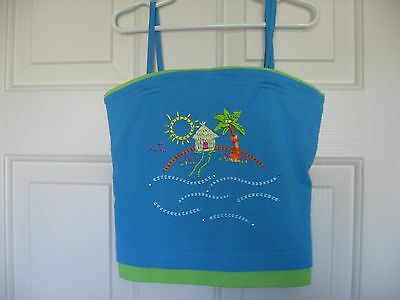Girl's Brand New Top w/Spaghetti Straps from The Children's Place Size M (7-8)