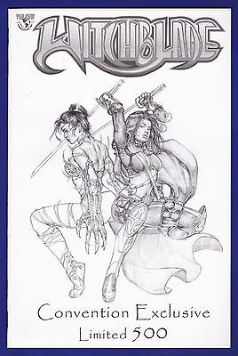 Witchblade #64 Comic Con Jay Sketch Variant 2003 Image 1/500 w/coa Magdalena