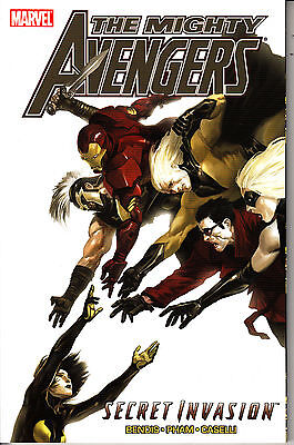 MARVEL TRADE PAPERBACK - The MIGHTY AVENGERS - SECRET INVASION     FREE POSTAGE