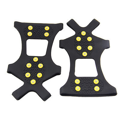 Silicone Anti Slip Shoes Cover/Anti-Slip Ice Spike Grippers/Snow Crampons Unisex