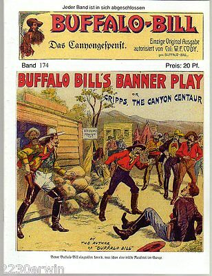 BUFFALO BILL Band 174 / Col.William F.Cody / GROSS-FORMAT