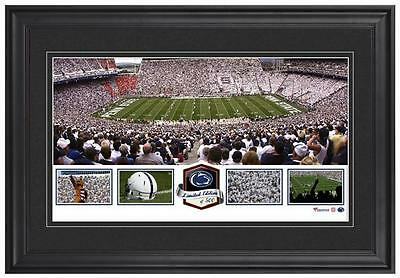 Beaver Stadium Penn State Nittany Lions Framed Panoramic Collage-LE of 500