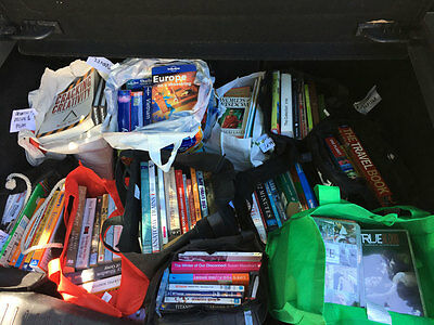 Assorted Books + DVDs – Very Good, Used Condition