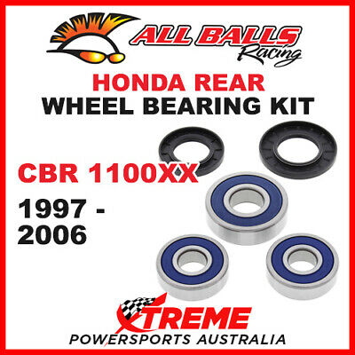 All Balls 25-1358 Honda CBR1100XX CBR 1100XX 1997-2006 Rear Wheel Bearing Kit