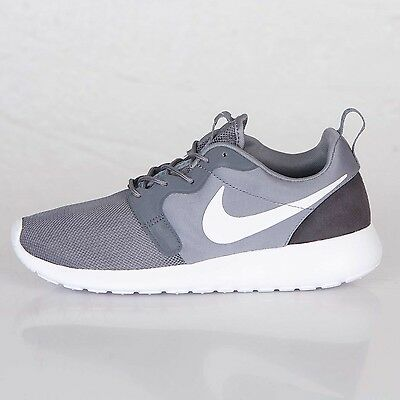 best service 76fc1 44ef0 NEW 10 Nike Rosherun Roshe Hyperfuse Hyp Gray White Anthracite Mens  636220-001