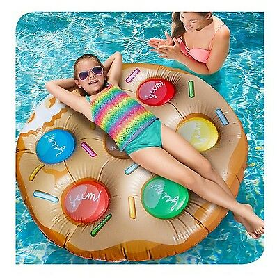 Banzai Monster Cookie Pool Lounger Float