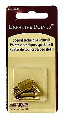 """Walnut Hollow Replacement Points """"Tips"""" for Woodburners and Hot Tools Set No 2"""