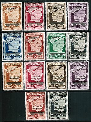 San Marino Airmail 1943 Sc#C26-33, C34-C39, 2 complete sets, MNH**VF  cp1