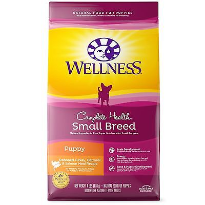 Wellness Complete Health Natural Dry Small Breed Puppy Food Turkey Salmon & O...