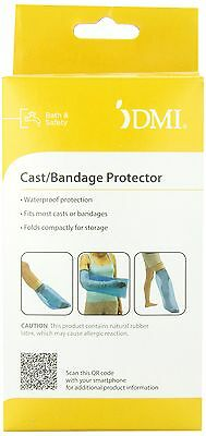 DMI Waterproof Leg Cast and Bandage Protector 13 x 41 inches Blue (Pack of 2)