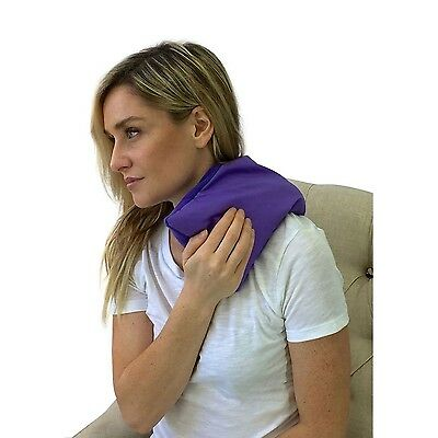 My Heating Pad- Hot & Cold Therapy Pack - Microwave Or Freeze (Purple)