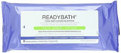 Medline Readybath Complete Wipes 8 Count (Pack of 30)