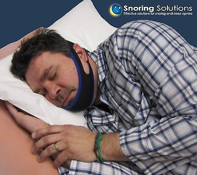 Premium Anti - Snoring Jaw Strap - Stop Snoring Comfortably - Simple and Effe...