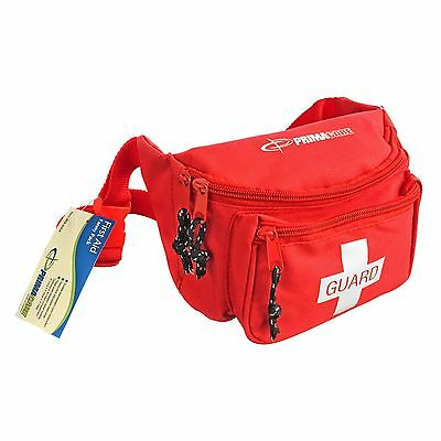 Primacare KB-8004 First Aid Fanny Pack Red