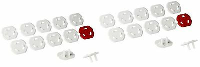 Ikea PATRULL Wall Electrical Outlet Covers Safety Plugs Covers Baby Proof Tod...