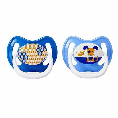 Dr Brown's PreVent Pacifier Boys Stage 2 6-12 Months