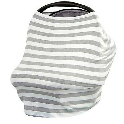 Stretchy Baby Infant Car Seat Canopy Nursing Stroller Cover 3 in 1 Multi-Use ...