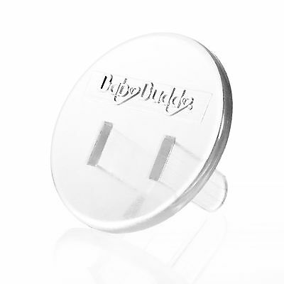 Baby Buddy 24-Count Outlet Plugs Clear 24-Pack