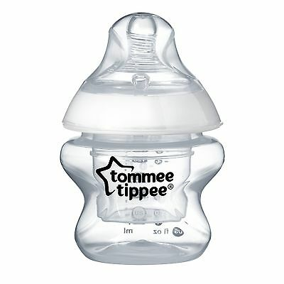 Tommee Tippee Closer to Nature 1-Pack First Bottle Clear 5 Ounce