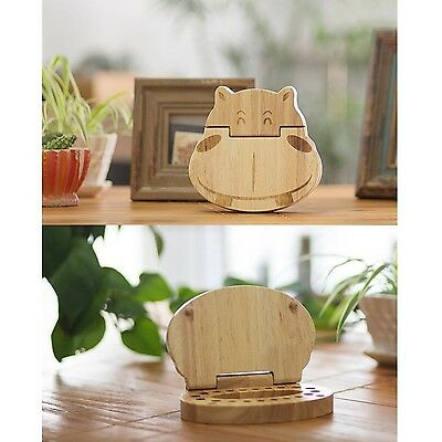 DecentGadget Baby Teeth Save Box Wooden Boxes Deciduous Storage Box for Boys ...