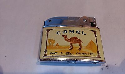 Old Camel Lighter made by Crown in woring order