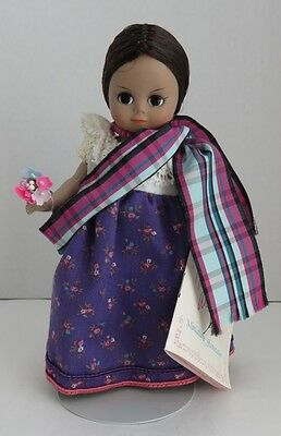 """1990 Madame Alexander 7"""" Laos Doll With Stand              (Inv11150)"""