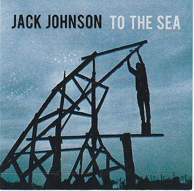 Jack Johnson To The Sea RARE promo sticker '10