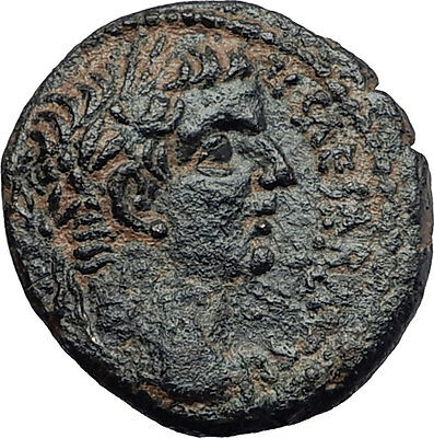 TIBERIUS 31AD Antioch Large SC BIBLICAL TIME Authentic Ancient Roman Coin i58041